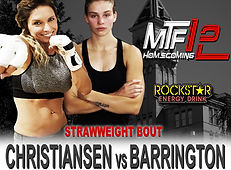 MTF 12 POSTER - CHRISTIANSEN VS BARRINGT