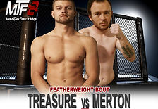 Treasure vs Merton - FIGHT CARD MTF 8.jp