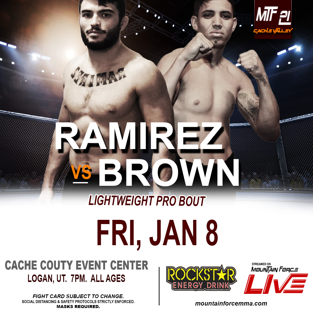 MTF 21 POSTER - RAMIREZ VS BROWN