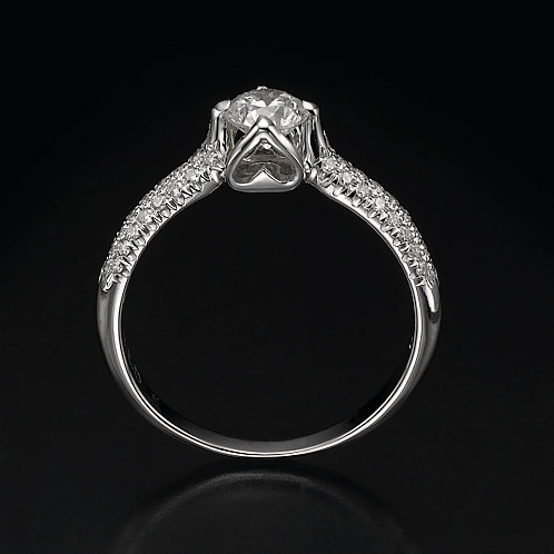Loving Heart טבעת אירוסין