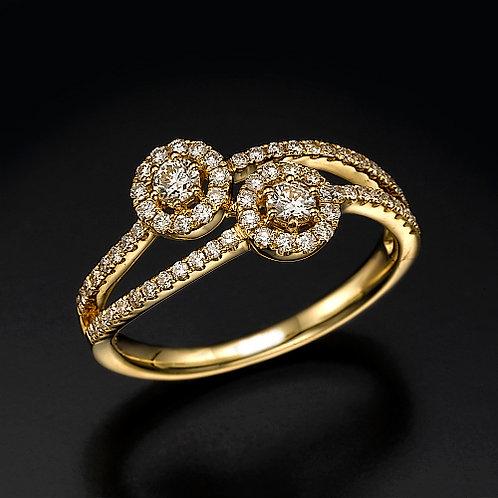 Capri טבעת יהלום