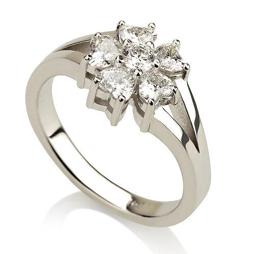 Flower Power טבעת יהלום