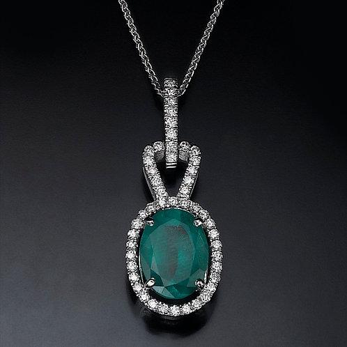 Mistic Emerald תליון