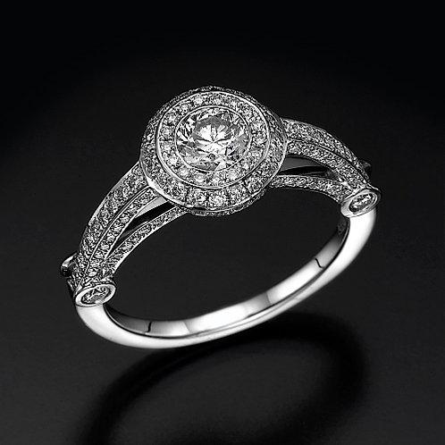 Sitra טבעת יהלום