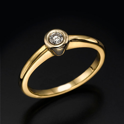Golden Cup טבעת אירוסין