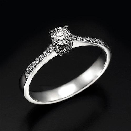 Bliss Pave טבעת אירוסין