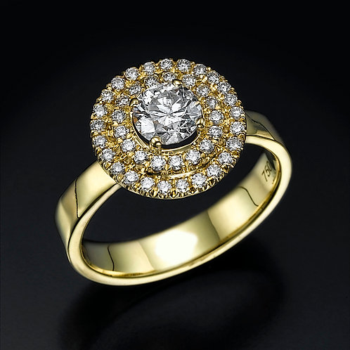 Jupiter 0.50ct טבעת אירוסין