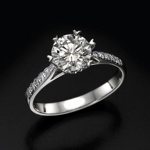 Queen Of Hearts טבעת אירוסין