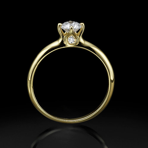 Crown טבעת אירוסין