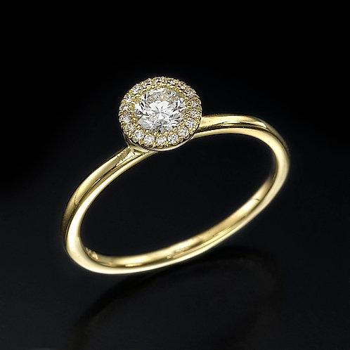 Angelica טבעת יהלום