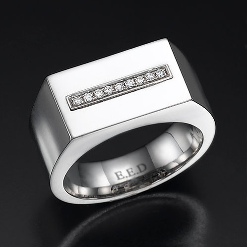 ALPHA MEN DIAMOND RING