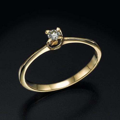 Daisy טבעת אירוסין