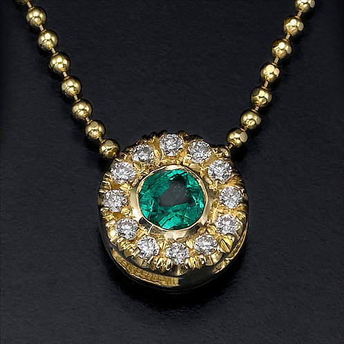Aurora Emerald תליון