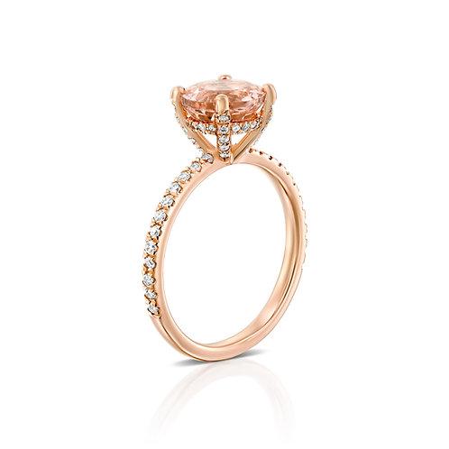 טבעת Pink Crown
