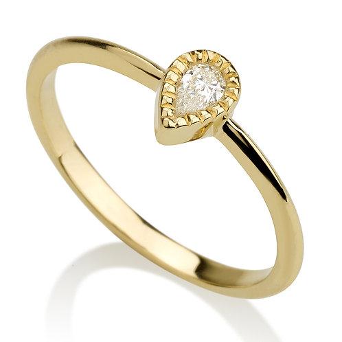 Vintage Fantasy טבעת יהלום