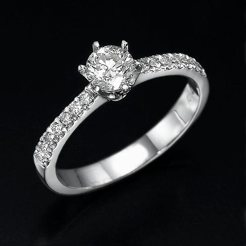 Fancy Crown טבעת אירוסין