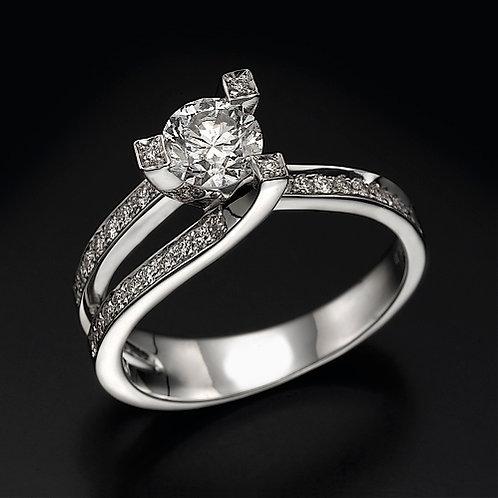 Ultra Violet טבעת אירוסין