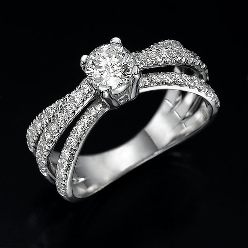 Eros טבעת יהלום