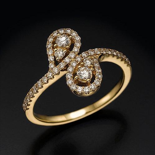Athena טבעת יהלום