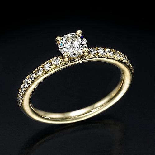 Foxy 0.30ct טבעת אירוסין