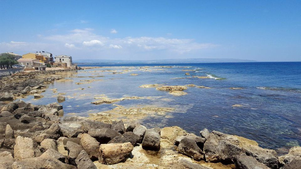 The scenic coast of Marzamemi, which remains a notable source of artisanal seafood products. ALEXANDRA KIRKMAN
