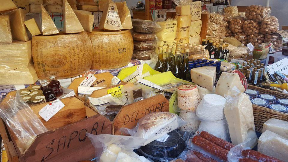 A small sampling of the countless delicacies for sale at Palermo's Ballarò market, the city's oldest and largest. ALEXANDRA KIRKMAN