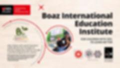 DBS Foundation Grant Award 2019 Boaz Education