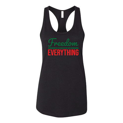 """""""Freedom Over Everything"""" Juneteenth Tank"""