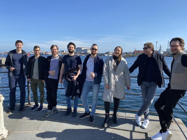 Afternoon team walk & talk in Copenhagen