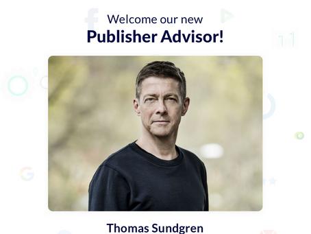 Thomas Sundgren for Publisher Advisor Role at Nexta.io