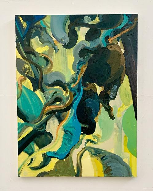 Oil on canvas, 76x102cm, 2021