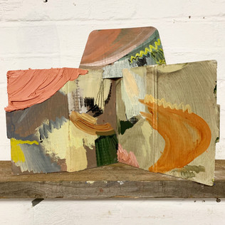 Untitled Oil on cardboard 2020