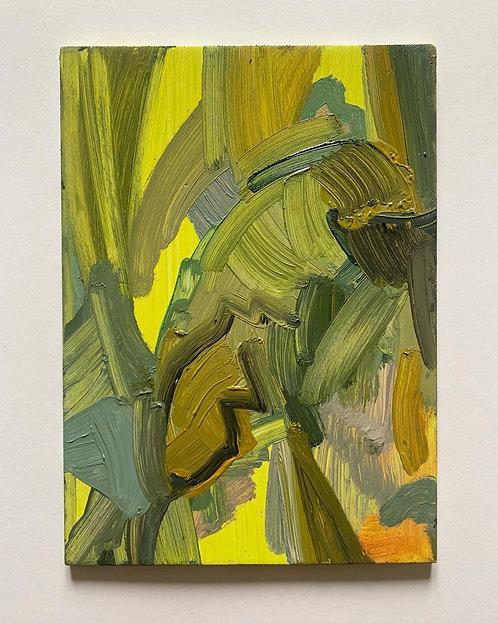 Untitled oil on panel (1)