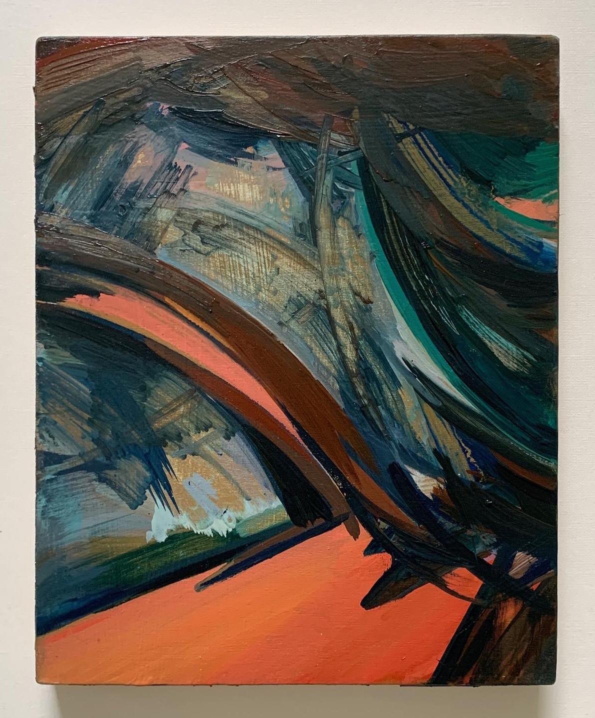 Untitled Oil on board 20x25cm 2020