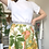 Thumbnail: Tropical Parrot Wrap Skirt Size 10