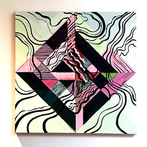 Flow Original Canvas Painting