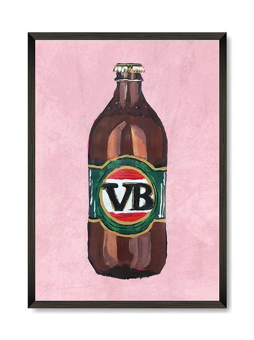 Victoria Bitter Print