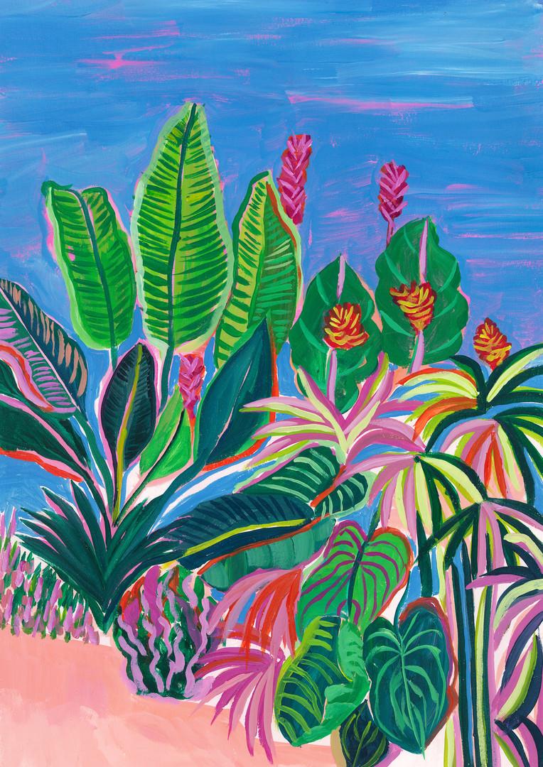 Tropical Patio