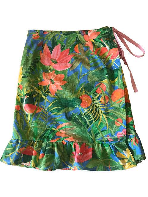 Tropical Skirt Size Uk 4/6