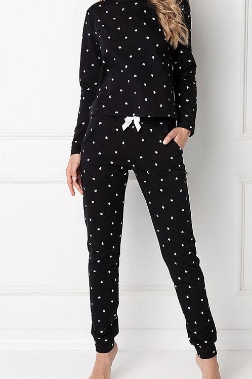 Pyjama suit black