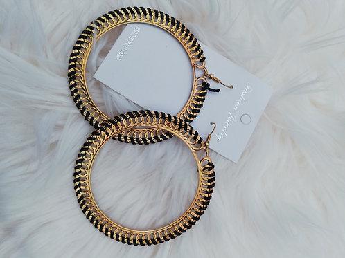 oorbellen ring groot