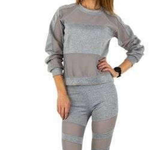Jogging suit trans sw