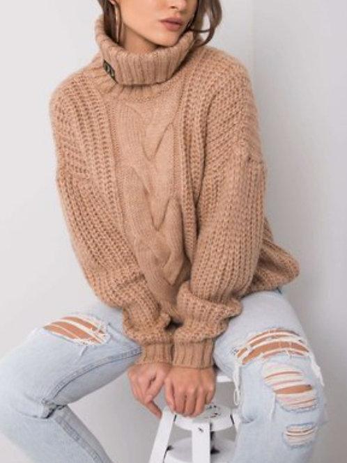 Sweater beige one size