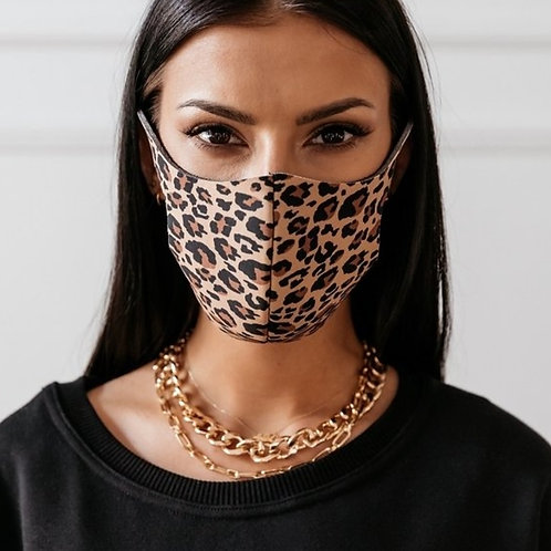 Leopard masker medium
