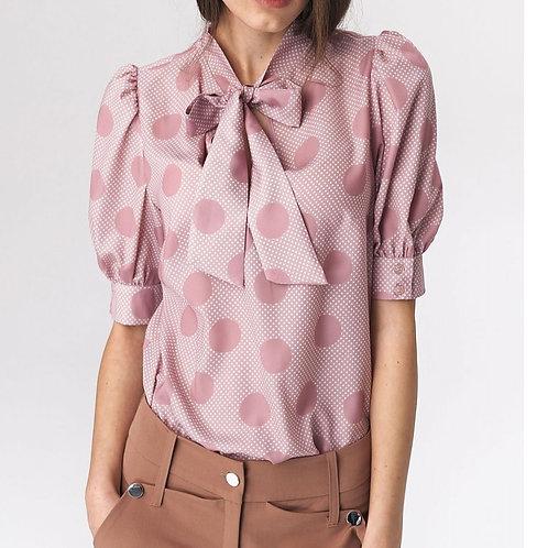 Blouse spots pink