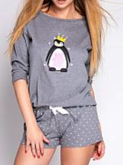 Pajama set shorty