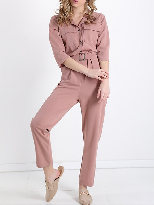 Jumpsuit hoge taille fp powder