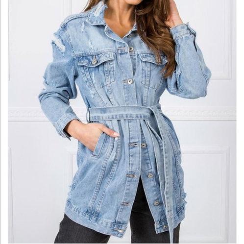 Long jeans vest FP