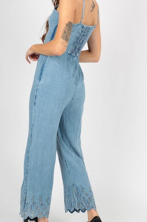 jeanssuit laatste stuk xs past ook voor small rekbaar