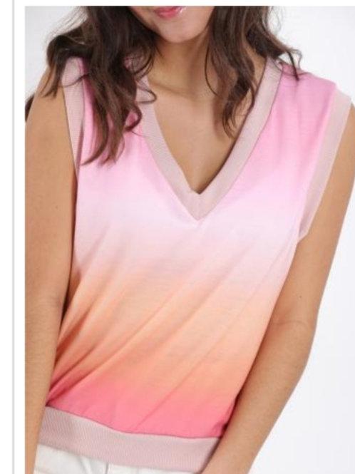 V neck shirt pastel FP